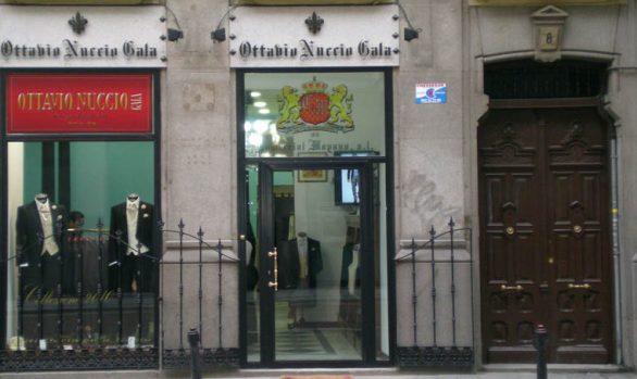 Reforma fachada tienda