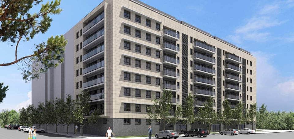 Viviendas en pamplona arquitectos madrid estudio de arquitectura - Arquitectos en pamplona ...